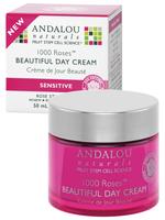 Andalou Naturals 1000 Roses Beautiful Day Cream, 50 ml | NutriFarm.ca