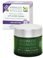 Andalou Naturals Hyaluronic DMAE Lift & Firm Cream, 50 ml | NutriFarm.ca