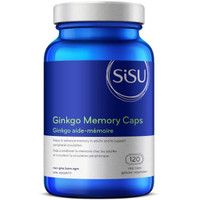 SISU Ginkgo Memory, 120 Vegetable Capsules