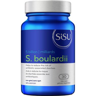 SISU S. Boulardii 5 Billion, 30 Vegetable Capsules   NutriFarm.ca