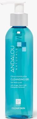 Andalou Naturals Citrus Kombucha Cleansing Gel, 178 ml | NutriFarm.ca