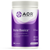 AOR Bone Basic, 360 Vegetable Capsules | NutriFarm.ca