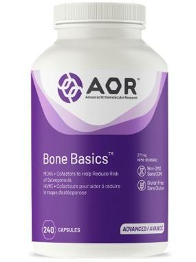 AOR Bone Basic, 240 Vegetable Capsules | NutriFarm.ca