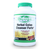 Organika Herbal Colon Cleanser Forte 600 mg, 180 Vegetable Capsules | NutriFarm.ca