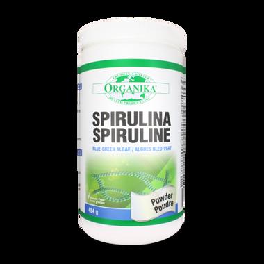 Organika Spirulina Powder, 454 g | NutriFarm.ca