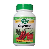 Nature's Way Cayenne Pepper, 180 Capsules | NutriFarm.ca