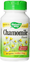 Nature's Way Chamomile Flowers, 100 Capsules | NutriFarm.ca