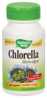 Nature's Way Chlorella, 100 Capsules | NutriFarm.ca