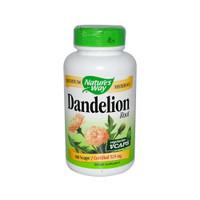 Nature's Way Dandelion Root, 180 Vegetable Capsules   NutriFarm.ca