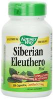Nature's Way Siberian Eleuthero Root, 100 Capsules | NutriFarm.ca