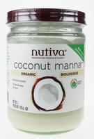 Nutiva Coconut Manna, 425 g | NutriFarm.ca