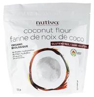Nutiva Organic Coconut Flour, 454 g | NutriFarm.ca