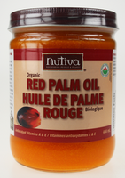 Nutiva Organic Red Palm Oil, 444 ml | NutriFarm.ca