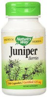 Nature's Way Juniper Berries, 100 Capsules | NutriFarm.ca