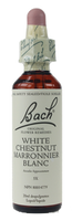 Bach White Chestnut, 20 ml | NutriFarm.ca