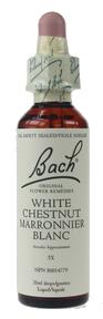Bach White Chestnut, 20 ml | NutriFarm.ca