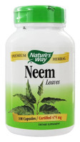 Nature's Way Neem Leaves, 100 Capsules | NutriFarm.ca
