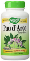Nature's Way Pau d'Arco Inner Bark, 180 Capsules | NutriFarm.ca