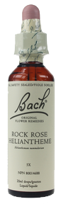 Bach Rock Rose, 20 ml | NutriFarm.ca