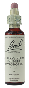 Bach Cherry Plum, 20 ml | NutriFarm.ca