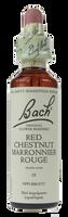 Bach Red Chestnut, 20 ml | NutriFarm.ca