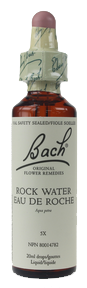 Bach Rock Water, 20 ml | NutriFarm.ca
