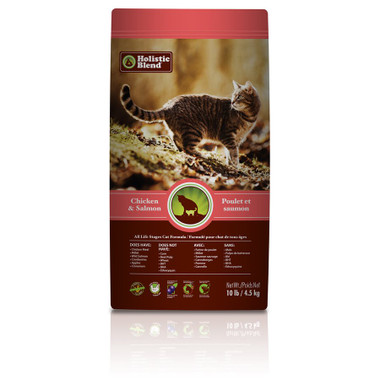 Holistic Blend All Life Stages for Cat, 10 lbs | NutriFarm.ca