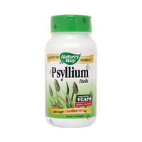 Nature's Way Psyllium Husks, 100 Vegetable Capsules   NutriFarm.ca