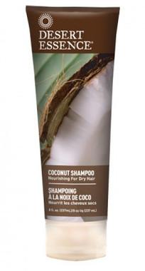 Desert Essence Coconut Shampoo, 237 ml | NutriFarm.ca