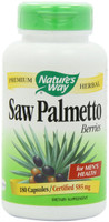 Nature's Way Saw Palmetto Berries, 100 Capsules | NutriFarm.ca