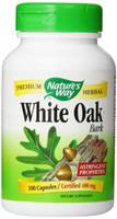 Nature's Way White Oak Bark, 100 Capsules | NutriFarm.ca