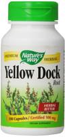 Nature's Way Yellow Dock Root, 100 Capsules   NutriFarm.ca