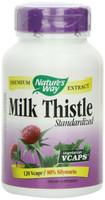 Nature's Way Milk Thistle Standardized, 120 Vegetable Capsules   NutriFarm.ca