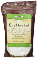NOW Organic Erythrito, 454 g | NutriFarm.ca