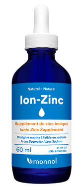 Monnol Ion-Zinc, 30 ml | NutriFarm.ca