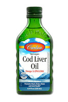 Carlson Laboratories Norwegian Cod Liver Oil, 250 ml | NutriFarm.ca