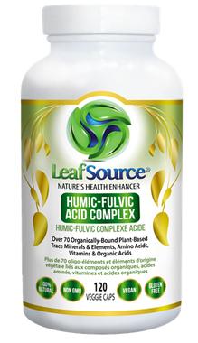 LeafSource, 120 Veg Caps | NutriFarm.ca