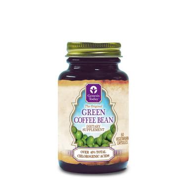 Genesis Today Green Coffee Bean, 60 Vegetable Capsules | NutriFarm.ca