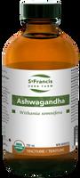 St. Francis Herb Farm Ashwagandha, 250 ml | NutriFarm.ca