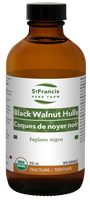 St. Francis Herb Farm Black Walnut Hulls, 250 ml | NutriFarm.ca