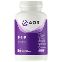 AOR P-5-P, 60 Vegetable Capsules | NutriFarm.ca