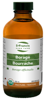 St. Francis Herb Farm Borage, 250 ml | NutriFarm.ca