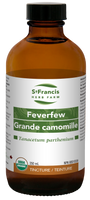 St. Francis Herb Farm Feverfew, 250 ml | NutriFarm.ca