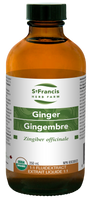 St. Francis Herb Farm Ginger, 250 ml | NutriFarm.ca