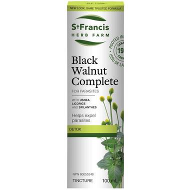 St. Francis Herb Farm Black Walnut Complete, 100 ml | NutriFarm.ca
