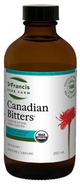St. Francis Herb Farm Canadian Bitters, 250 ml | NutriFarm.ca