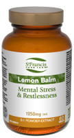 St. Francis Herb Farm Lemon Balm, 60 Vegetable Capsules | NutriFarm.ca