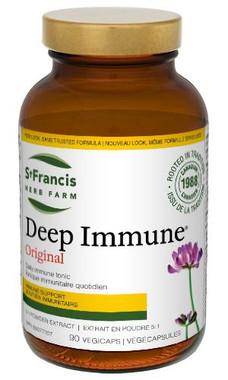 St. Francis Herb Farm Deep Immune, 90 Vegetable Capsules   NutriFarm.ca