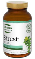 St. Francis Herb Farm Strest, 90 Vegetable Capsules | NutriFarm.ca