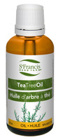 St. Francis Herb Farm Tea Tree Oil, 30 ml | NutriFarm.ca